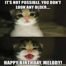 Melody Meme - happy birthday melody meme memeshappy