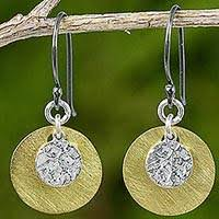 thailand earrings gold earrings from thailand at novica