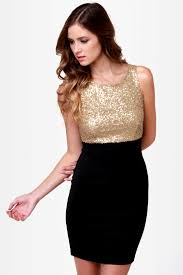 black and gold dress dressy black and gold dress sequin dress sheath dress 40 00