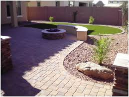 backyards cozy arizona back yard landscape ideas 33 backyard