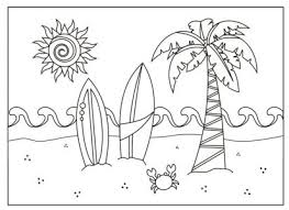 coloring pages cute summer coloring page colouring pages
