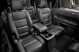 2015 ford explorer interior lights ford explorer prototype shows off revised front and rear