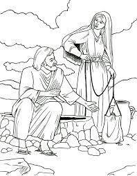 samaritan woman coloring