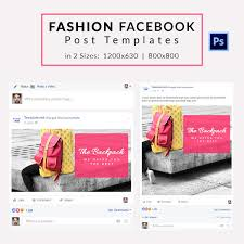 10 free facebook post templates business travel fashion