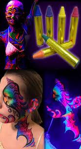 best 10 black light makeup ideas on pinterest neon face paint black light face body makeup sticks set of