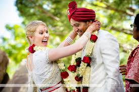 flowers garland hindu wedding valerie marty hindu wedding westin westminster autumn