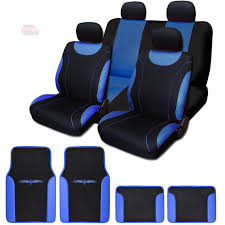 black friday deals on car seats new flat cloth black and blue car seat covers u2013 transshoppe