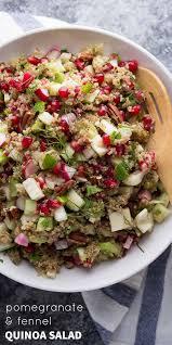 thanksgiving salad fennel and pomegranate quinoa salad