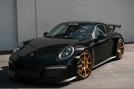 black porsche gt3 black beauty gmg track spec 991 gt3 rennlist porsche