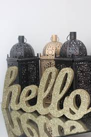 Glitter Home Decor Sale Hello Glitter Wood Sign Wooden Golden Or Custom Color