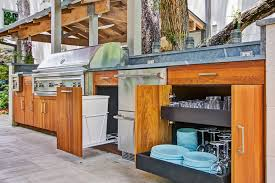 outdoor kitchen cabinet door hinges friday feature an outdoor kitchen fit for any grill