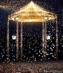 Gold Lights 2017 Gold Lights Bright Pavilion Romantic Wedding Photography