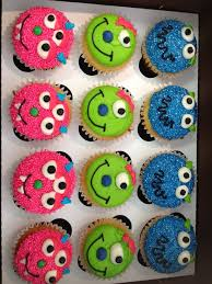 monster cupcakes for b u0027s halloween party at give some