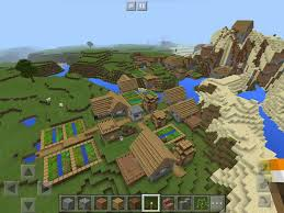 membuat rumah di minecraft 3 minecraft pe end portal village spawn seeds