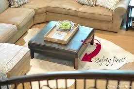 safety bumpers for tables grown up coffee table honey we re home
