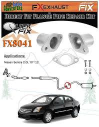 nissan sentra catalytic converter recall fx8041 2 1 8 u0026 034 semi direct fit exhaust muffler pipe flange