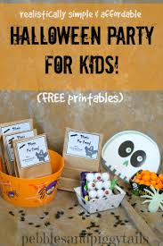 Cheap Halloween Party Ideas For Kids Easy Halloween Minute To Win It Games For Parties Making Life