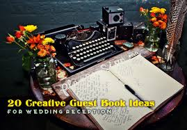 creative guest book ideas 20 creative guest book ideas for wedding reception wedding