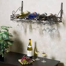 metro 8 bottle wall mounted wine rack hayneedle