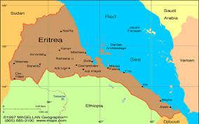 Eritrea Map Home Emmanuel
