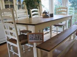 farmhouse table and chairs with bench large chunky pine board dining table 4 chairs bench seat 8 shabby