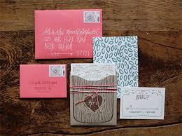 Tree Wedding Invitations Illustrated