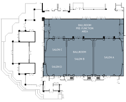 Create Salon Floor Plan Orange County Event Space The Island Hotel Event Spaces In