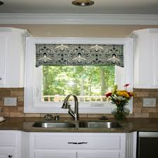 window treatment ideas for kitchen kitchen window valances ideas home design and decorating ideas