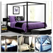 Platform Canopy Bed Iron Canopy Bed Ebay