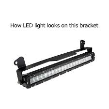 Led Light Bar Brackets by 20 22 U0027 U0027 Led Light Bar Lower Bumper Grill Mounting Bracket For Ford