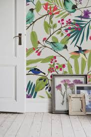 The  Best Floral Wallpapers Ideas On Pinterest Girls Bedroom - Wallpaper design for walls