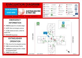 evacuation diagrams sample landscape evac di cmerge