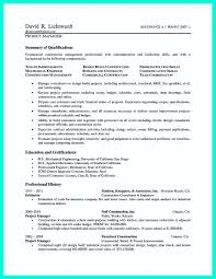 Best Project Manager Resume Sample by Construction Project Manager Resume Sample Doc Free Resume