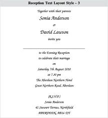 indian wedding reception invitation wording indian wedding reception invitation simplo co