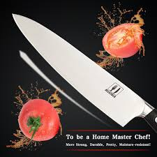 how to choose kitchen knives amazon com allezola professional chef u0027s knife 7 5 inch german