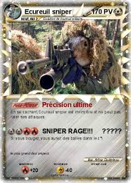 Pokémon Ecureuil sniper 3 3  Précision ultime  Ma carte Pokémon