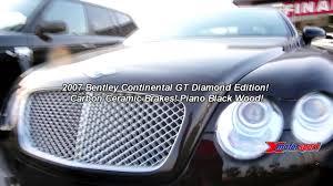 bentley diamond 2007 bentley continental gt rare diamond edition 97 999 youtube