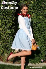 dorothy halloween costumes for kids easy homemade dorothy costume halloween pinterest costumes