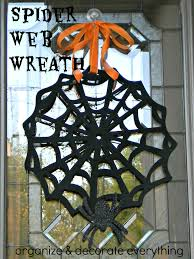 halloween frame craft spider frame wreath organize and decorate everything