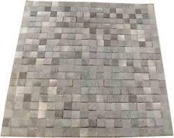 tappeti pelle di mucca pelo di mucca tappeto grigio patchwork 200 x 200 cm tappeto pelle