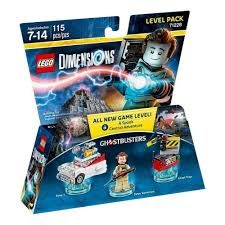 lego dimensions pack aventure ghostbusters peter venkman