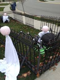 happy halloween the final end result of yard decor 2012 closer