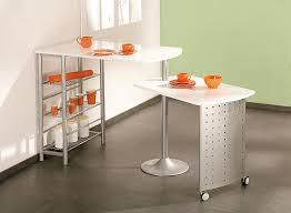 table de cuisine contemporaine modulable blanche sacha soldes