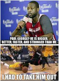 Paul George Memes - nba memes on twitter paul george diagnosed with a concussion after