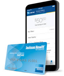 serve prepaid card prepaid card for jackson hewitt tax return american express serve