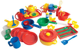 Play Kitchen Red Play Kitchen Dishes Pack Specialty Marketplace
