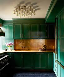 Wall Backsplash Exciting Kitchen Design In Green With Nice Wall Backsplash As Well