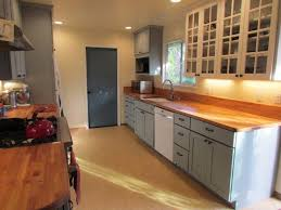 white cabinets with butcher block countertops custom cabinet sizes in gray with butcherblock counters