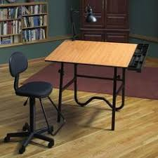 Rolling Drafting Table Stool Chair Adjustable Workshop Medical Drafting Office Back