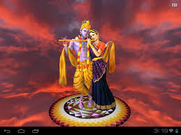 radha krishna 3d animated live wall paper for mobiles youtube